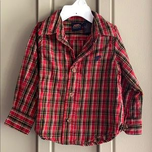 Wrangler Jeans Co. Flannel Button Down Shirt